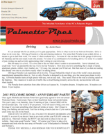 Palmetto Pipes June 2011