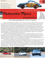 Palmetto Pipes August / September 2012