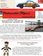 Palmetto Pipes December 2012
