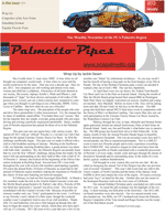 Palmetto Pipes January 2012
