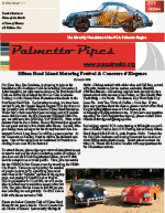 Palmetto Pipes October 2013
