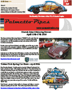 Palmetto Pipes April 2016